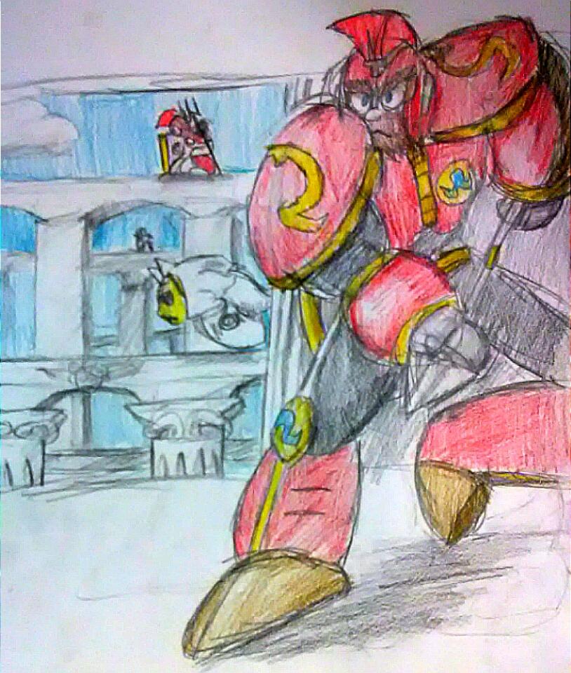 Spartan Man by shadowmanwily
