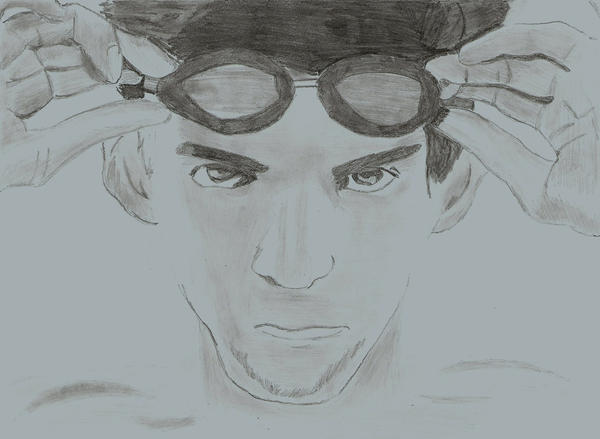 Michael Phelps by Jamin95