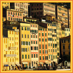 houses of Camogli by Itapao