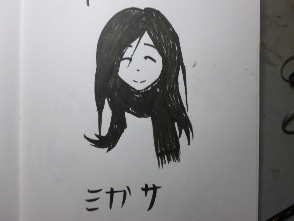 Quick-Sketch #2 Mikasa by DiegoTomasu