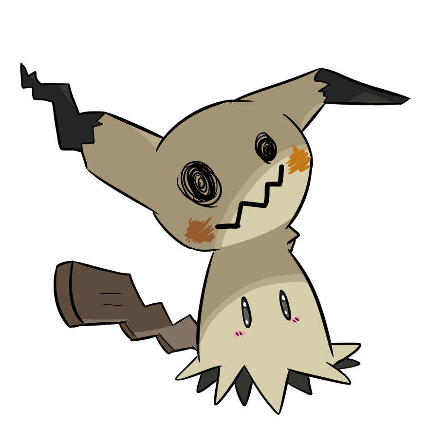 Mimikyu Pokemon By Tyime On Deviantart
