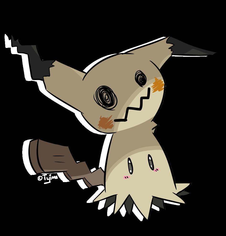 Mimikyu Pokemon By Tyime On Deviantart