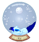 Icy Crystal Ball |Gift| by Tyime