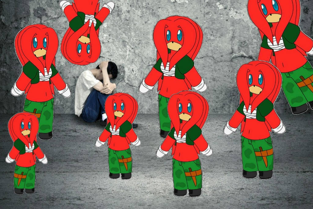 Adorable army of T-posing Emilys assert their domi by OrichalcosSorcerer