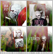 Zombie Boy - Icons by Whisper-Voo