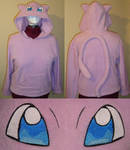 Mew Pokemon hoodie cosplay