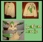 Leafeon Pokemon hoodie cosplay