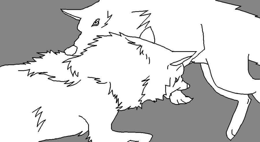 wolf rain coloring pages - photo#24