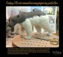 Creating a 1:12 scale armoured bear #11 by Pajutee