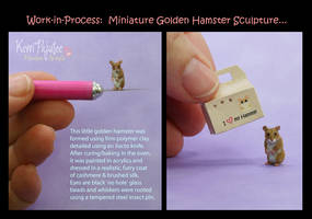 WIP Miniature Hamster sculpture... by Pajutee