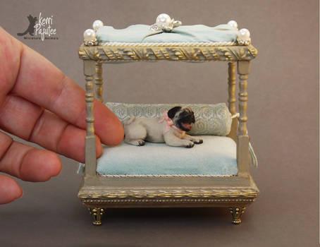 Miniature Pug Sculpture
