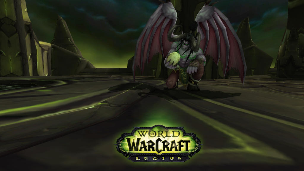 World Of Warcraft Legion Wallpaper By Nagaedits On DeviantArt