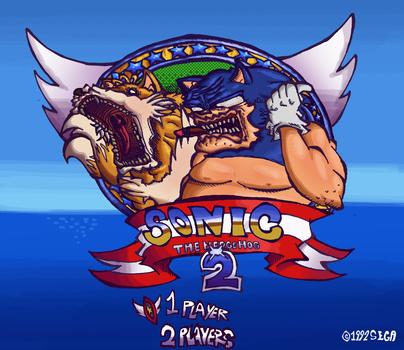 Sonic the Hedgehog 2 by Kierano4
