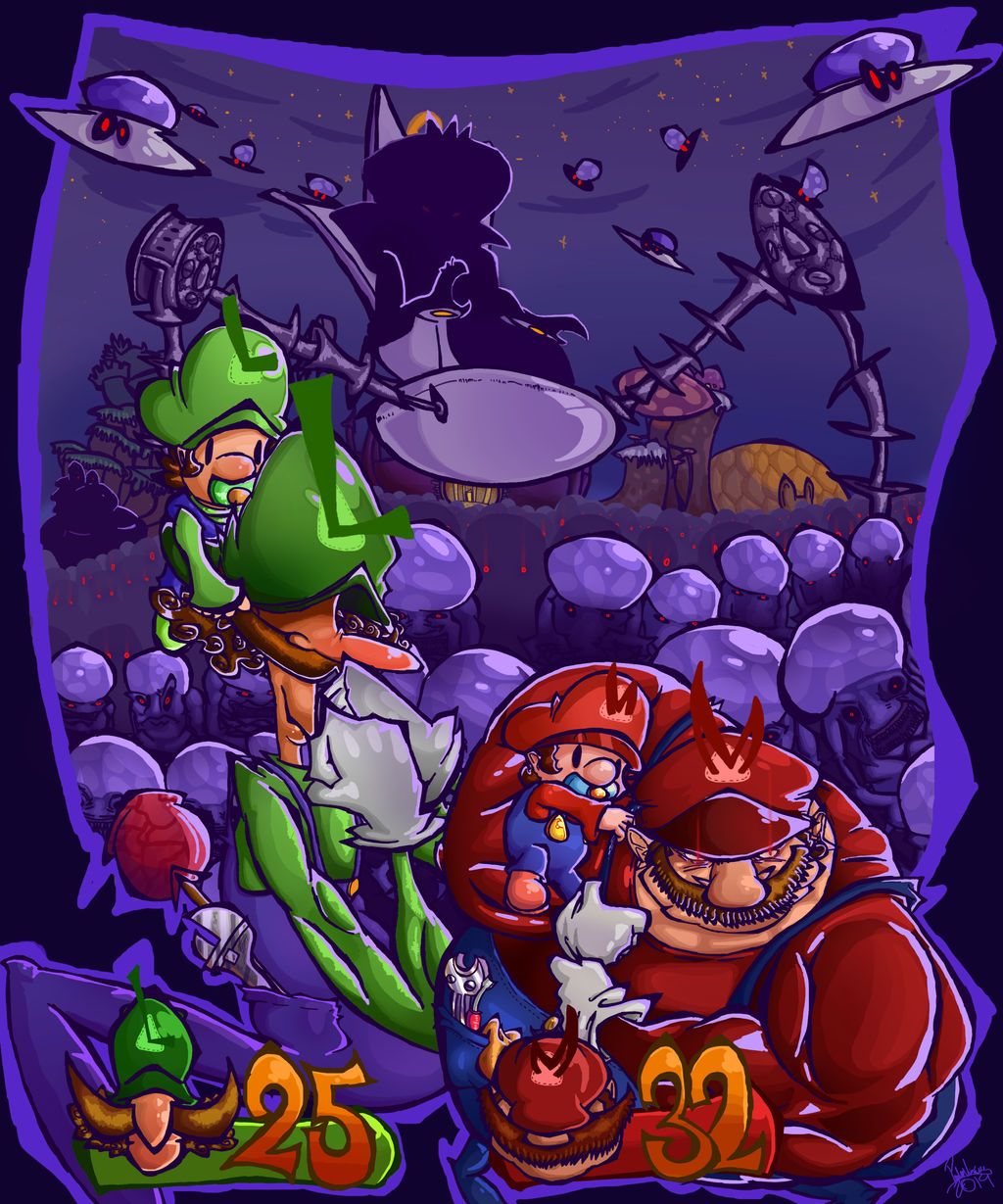 Mario And Luigi Partners In Time By Pedrovin On Deviantart