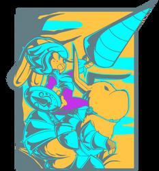 AC - Bunny Warrior by Pedrovin