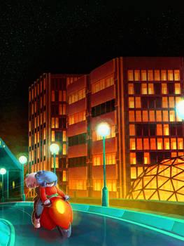 A Ride at Night