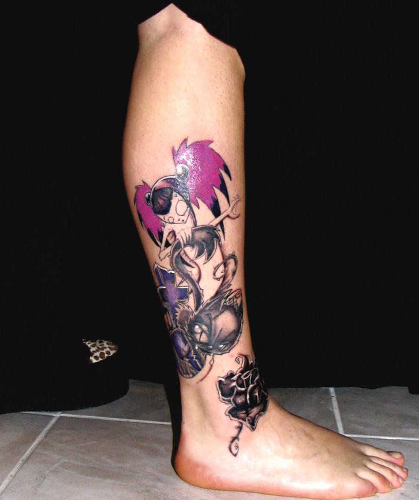 1d09e5144e420 Tattoo Templek: Sexy tattooed woman by Victor Hood