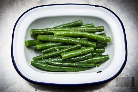 buttery green beans