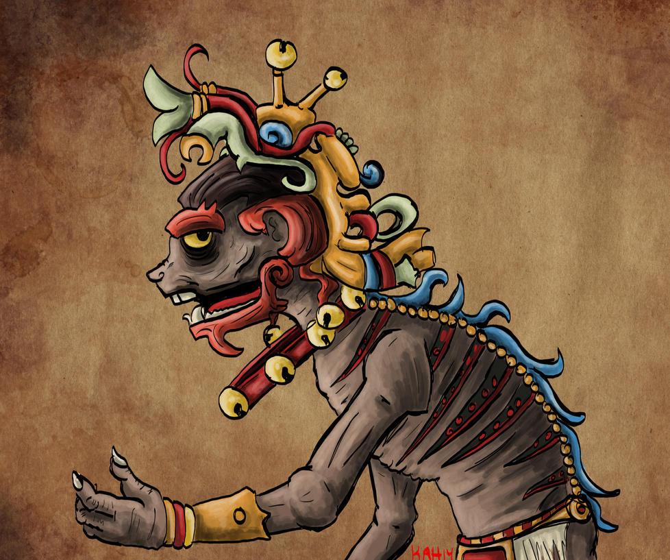 Ah Puch God of Death b...