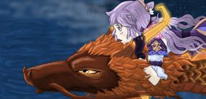 Genshin Impact meets Spirited Away.