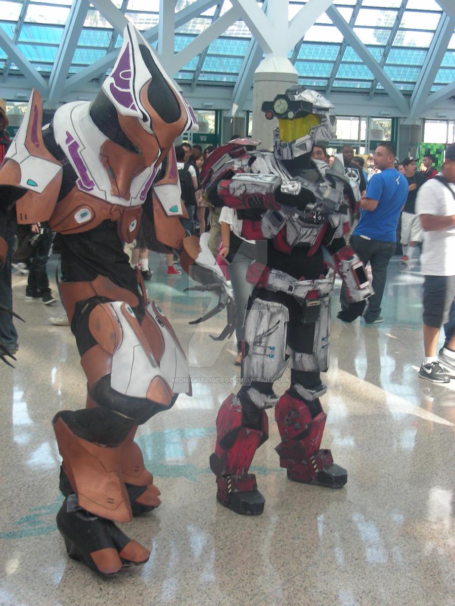 Halo Cosplay 2 AX 2011 by MidnightLiger0