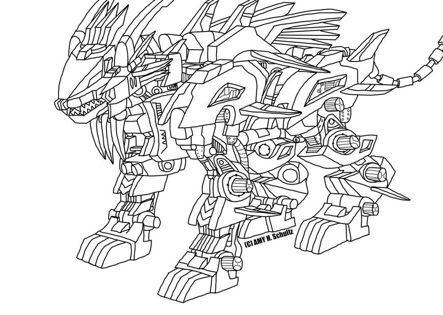 liger coloring pages - photo #44