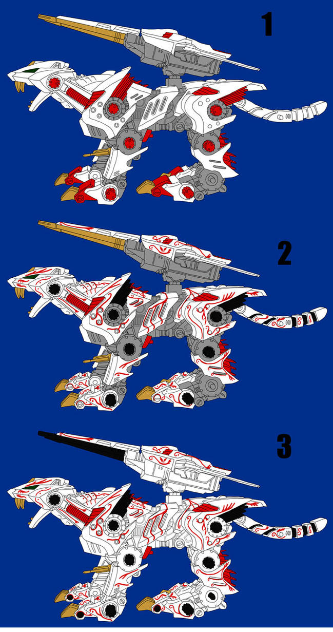 Lightning Saix Designs Concepts by MidnightLiger0