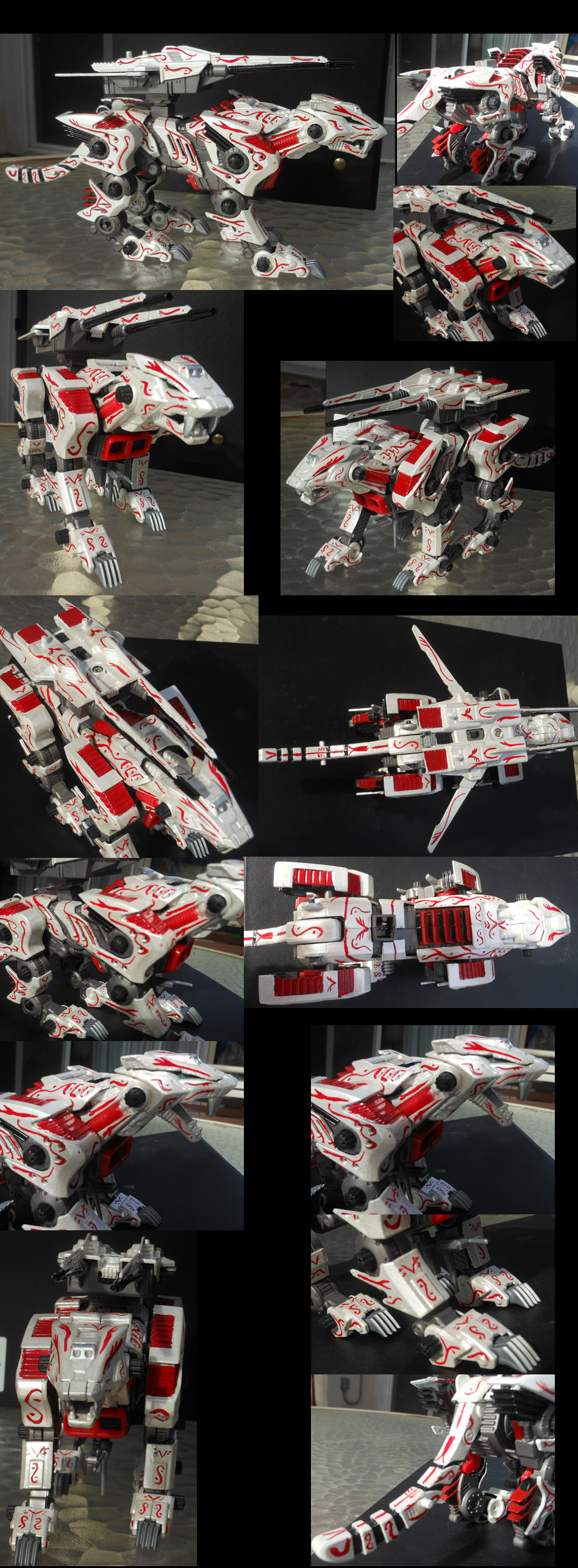 Royal Saix- Lightning Saix repaint by MidnightLiger0