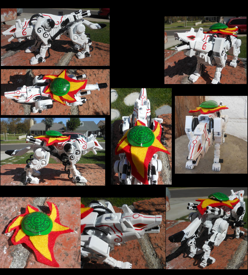 Command Wolf Custom- Amaterasu by MidnightLiger0