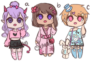 Cute Adopts(Closed) by C-Cream