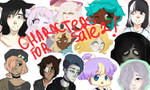 Characters for sale 2! (Open) by C-Cream