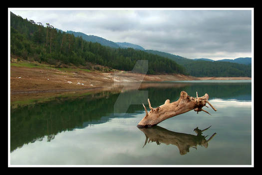 Zaovina lake