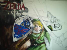 The Legend of Zelda Twilight Princess by Yitty