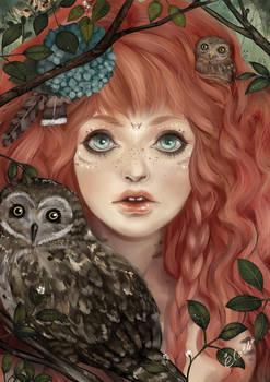 Owl girl - KC