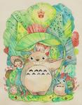 Totoro by Miss-Etoile