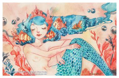 Mermaid by Miss-Etoile