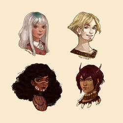 Busts commissions