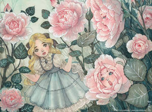 Alice and the talking flowers