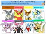Super Eevee Meme / Leeveen's Debut by Ernesto333