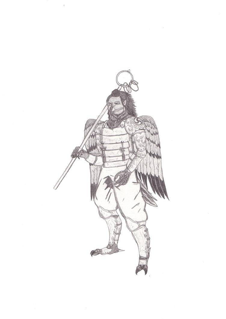 Karasu Tengu by raben