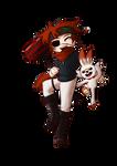 Lavi with Scorbunny! by FlockCall