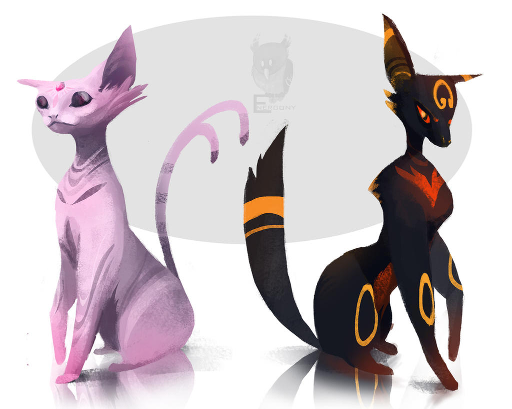 Cute Umbreon And Espeon Pokemon Images | Pokemon Images
