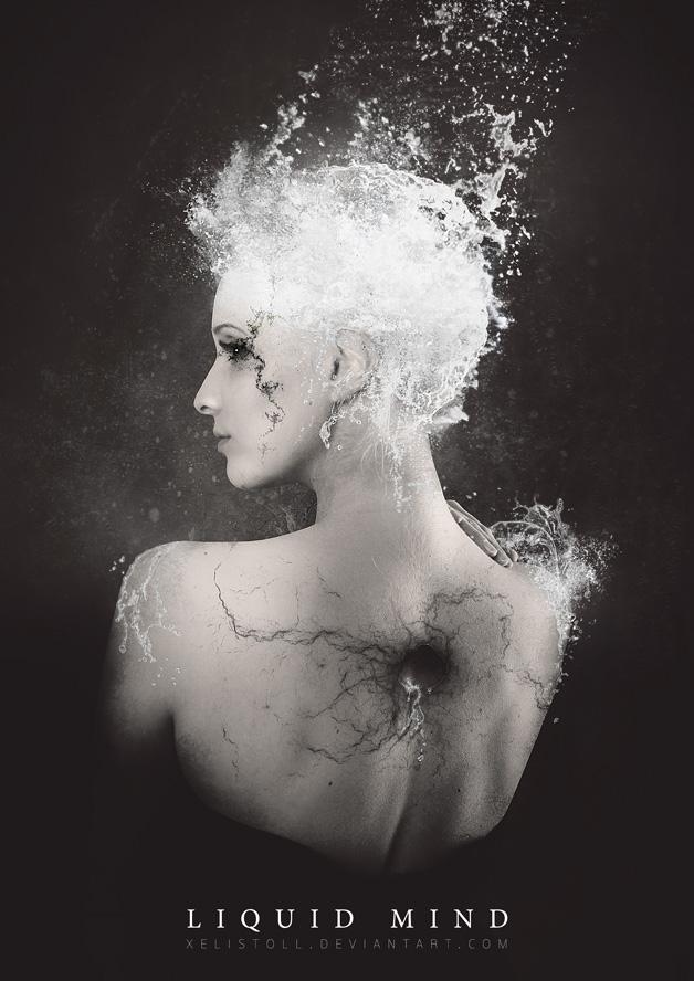 Liquid mind by Xelistroll
