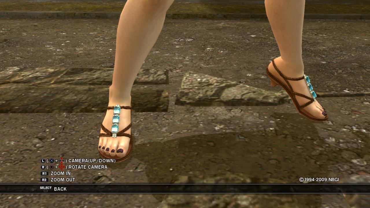 Zafina's Sandaled Feet by Hajiki