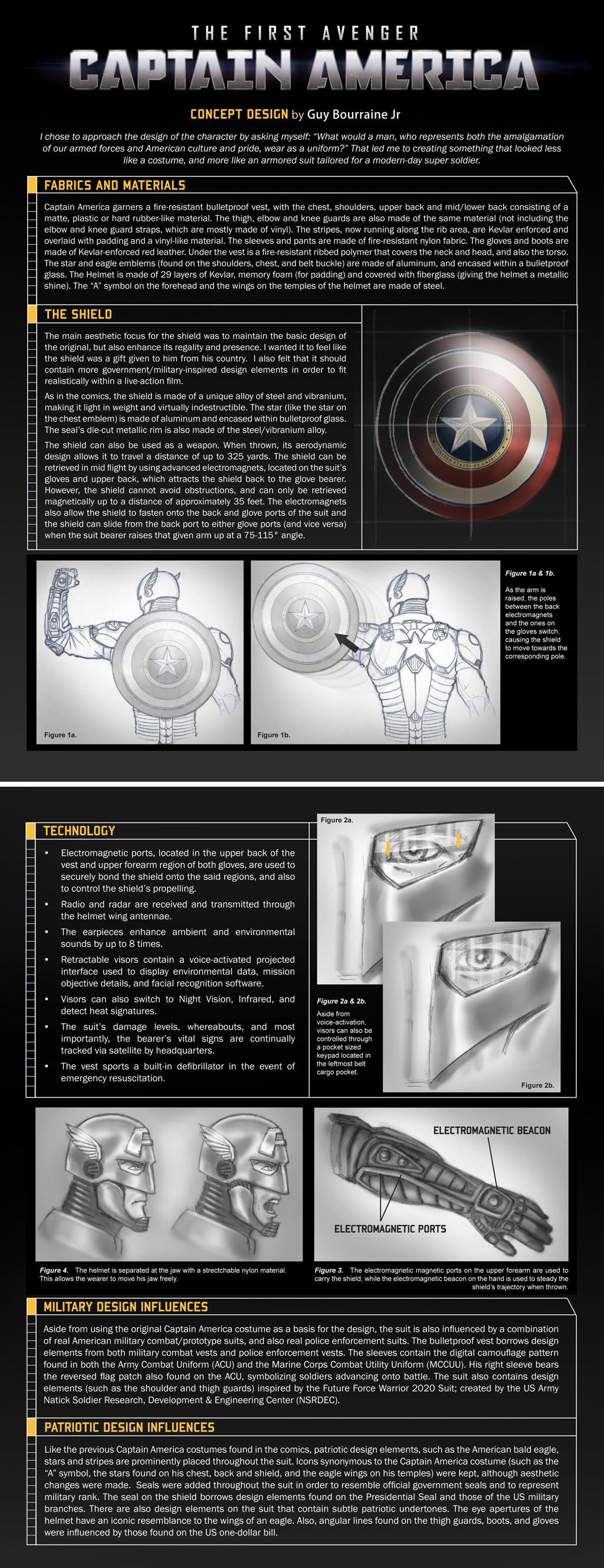 Captain America Concept 3 by tiguybou