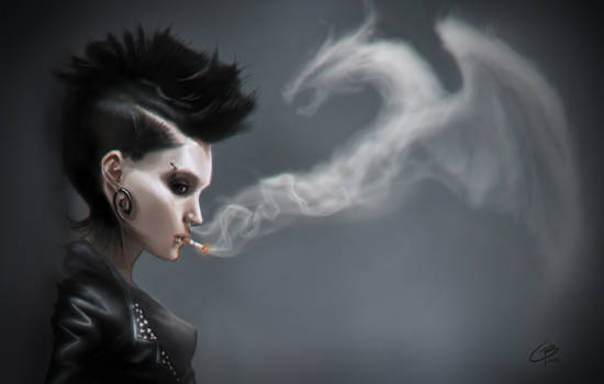 The Girl With The Dragon Tattoo -  Closeup