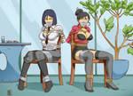 Commission - Yua and Taiga