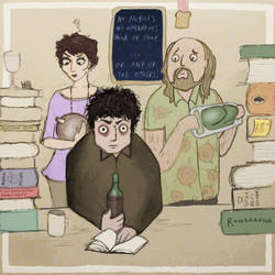 Black Books by CheshireSpider
