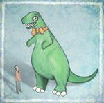 A Man and his Dinosaur