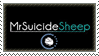 .:Stamp: MrSuicideSheep~ by WolfSoulKeeper